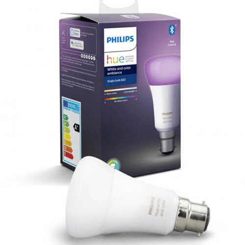 Le lampade Philips Hue con supporto Bluetooth